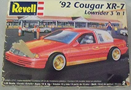92 Cougar XR 7 Lowrider 3 N 1 By Revell Figures