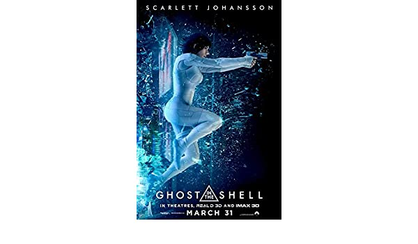 NEW Scarlett Johansson C Ghost in the Shell Movie POSTER 27 x 40 USA
