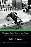 Mexican Cartel Essays and Notes: Strategic, Operational, and Tactical, Robert J. Bunker, 1475987315