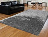 Homemusthaves Huge Blowout Sale Enchanted Silver Rug Rugs Carpet Shag Shaggy 8X10 8 x 10 Hand Carved
