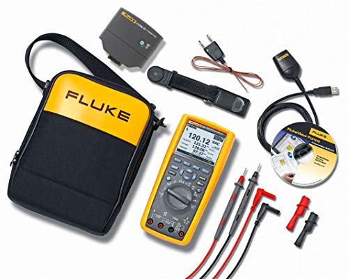 (Fluke 289/FVF/IR3000 289 Multimeter with Software and Wireless Connectivity Kit)