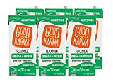 Good Karma Flaxmilk Unsweetened 32 oz. (Shelf Stable 6 Pack) A Creamy Dairy Free Milk Alternative With Plant-Based Protein That Is Vegan Non-GMO Nut Free and Soy Free and Gluten-Free