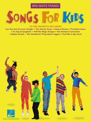 Download Songs for Kids (Big-Note Piano) pdf