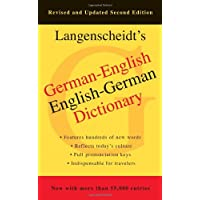 German-English Dictionary, Second Edition