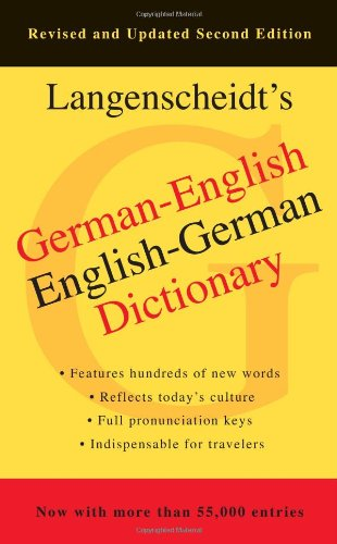 German-English, English-German Dictionary, 2nd Edition