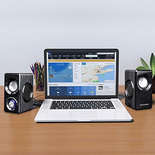 BASSBOX USB 2.0 Channel Computer Speakers with Stereo Sound for Mac,PC,Laptop,Smart Phone and More by BASSBOX (Image #6)