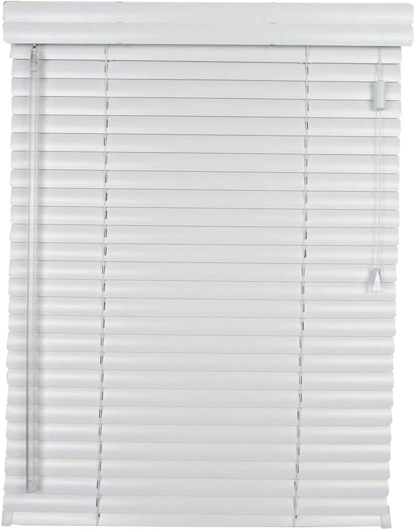 spotblinds – Custom Made – 1 Choice Aluminum Mini Blinds – Outside Mount – 18 -29 in Width by 24 -42 in Length – Choose Color from White – Tan – Silver 27 W x 30 L