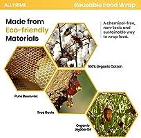All Prime - Envoltorio reutilizable para alimentos - Envoltorio de ...