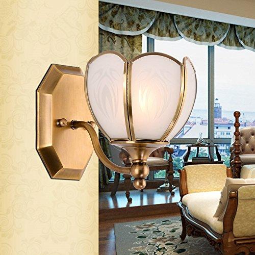 lfnrr amerikanischen Europäischen Kupfer Lampe Schlafzimmer ...
