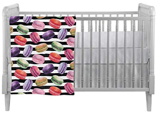 Macarons Crib Comforter / Quilt (Personalized) by Baby Milano