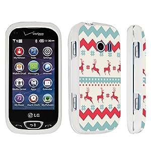 DuroCase ? LG Extravert 2 Hard Case White - (Christmas Winter)