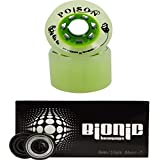 Narrow Width Atom Poison Hybrid Skate Wheels with Bionic 8mm Bearings