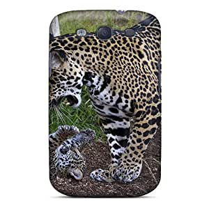 Tpu Shockproof/dirt-proof Playful Jaguars Cover Case For Galaxy(s3)
