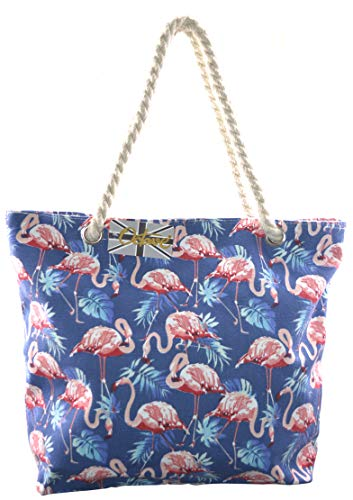 da Flamingo Borsa Design Octave Donna Blue spiaggia BqAwn5xH