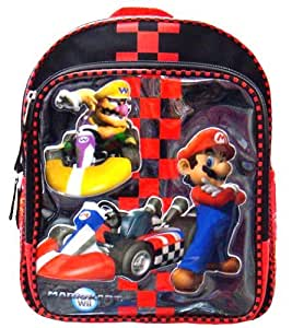 mario kart wii small backpack toys games. Black Bedroom Furniture Sets. Home Design Ideas