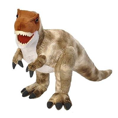 Wild Republic T-Rex Plush, Dinosaur Stuffed Animal, Plush Toy, Gifts for Kids, Dinosauria 17 Inches: Toys & Games