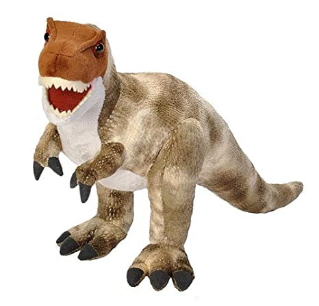 Amazon Com Wild Republic T Rex Plush Dinosaur Stuffed Animal