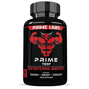 Prime Labs Men's Testosterone Booster (60 Caplets) - Natural Stamina, Endurance and Strength Booster - Fortifies Metabolism - Promotes Healthy Weight Loss and Fat Burning natural male testosterone booster - 51t0ZwXcctL - natural male testosterone booster