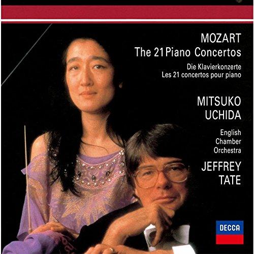 ジェフリー・テイト(指揮) 内田光子(ピアノ) イギリス室内管弦楽団 / ヴォルフガング・アマデウス・モーツァルト:ピアノ協奏曲集