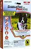 ShieldTech - DROPS - KILLS Flea Tick Lice Mosquitoes Eggs - Protection (4 dose) LARGE DOG (34-66 lbs)