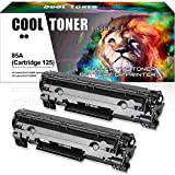 Cool Toner 2PK Compatible for HP 85A CE285A P1102w Canon 125 Cartridge 125 Toner HP LaserJet P1102w M1212nf HP LaserJet Pro P1102W P1102 M1212nf M1217nfw M1132 Canon LBP6000 MF3010 LBP6030w Printer