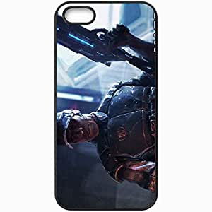 Personalized iPhone 5 5S Cell phone Case/Cover Skin Anderson Black