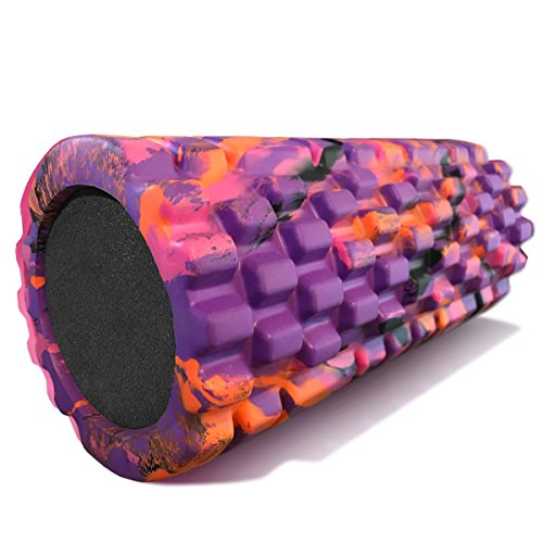 321 STRONG Foam Massage Roller - Deep Tissue Massager For Your Muscles & Back
