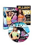 3 DVD Set Jillian Michaels. Ripped In 30, 10 Minute Body Transformation, 10 Minute Body Transformation 2nd Edition