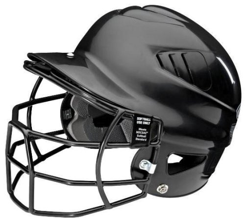 Rawlings Coolflo Batting Helmet with Softball Approved Faceguard – DiZiSports Store
