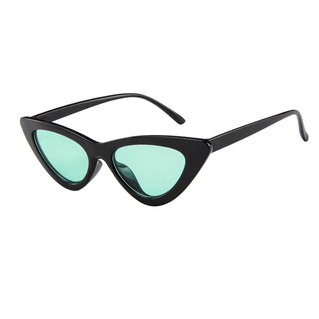 iYBUIA One Piece Tinted Sunglasses Transparent Candy Color Glasses