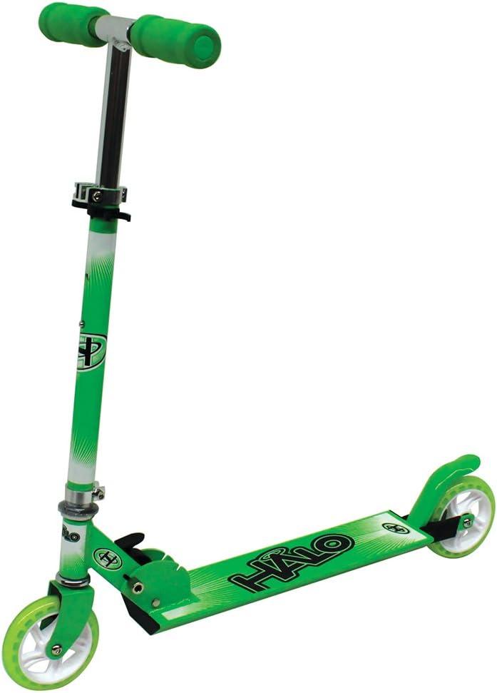 HALO(ハロ) 120 Premium Scooter キックスケーター 折りたたみ (グリーン/ホワイト)