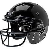 Schutt Recruit Hybrid Youth Football Helmet with Facemask Black L