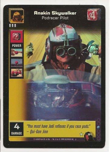 Young Jedi Ccg - Young Jedi CCG FOIL Promo FP1 Anakin Skywalker, Podracer Pilot
