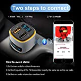(Upgraded Version) FM Transmitter Bluetooth