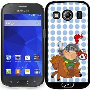 Funda para Samsung Galaxy Ace 4 (SM-G357) - Pequeño Caballero Con El Caballo by Los dibujos de Alapapaju
