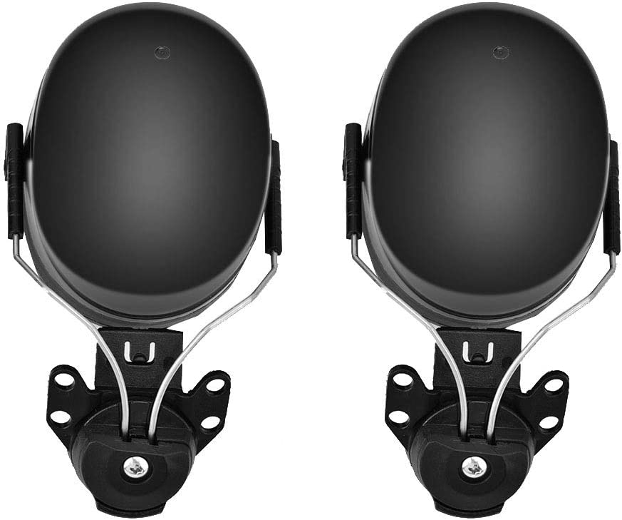 construcci/ón Orejeras plegables orejeras de casco para protecci/ón auditiva orejeras de reducci/ón de ruido con almohadillas de espuma suave orejeras insonorizadas para disparos