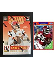2021 Panini Score Football Sealed Blaster 132 Card Box Look for Autograph and Memorabilia Trevor Lawrence Rookie