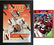2021 Panini Score Football Sealed Blaster 132 Card Box Look for Autograph and Memorabilia Trevor Lawrence Rook