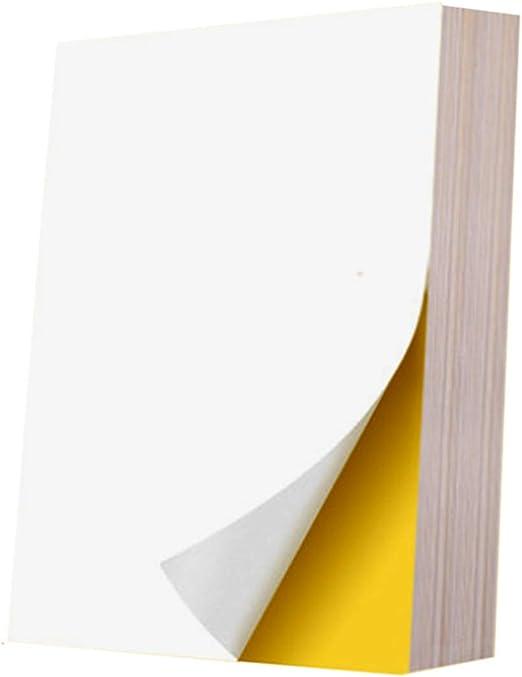 A4 Collant autocollante Imprimante Laser Copieur adresse 14 étiquettes x 40 Feuilles Blanc