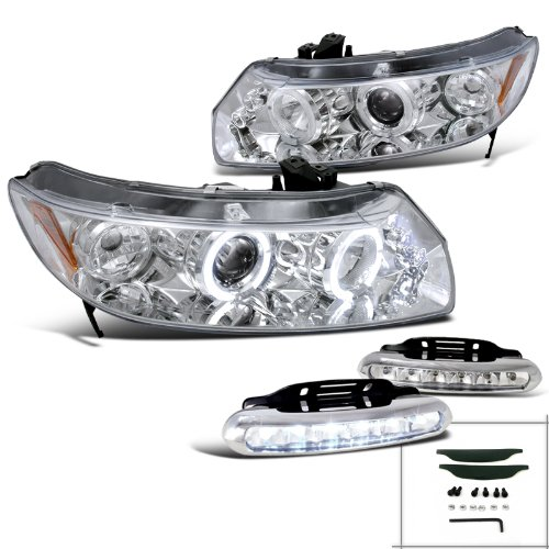 07 honda civic si headlight - 9