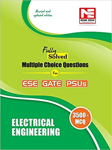 Buy Electrical Engineering - 3500 MCQs for ESE, GATE & PSUs (Fully