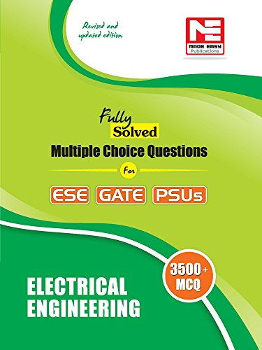 3500 MCQS : Electrical Engineering - Practice Book for ESE, Gate & Psus