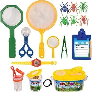 Kangaroo's Insect Bug Adventure Set; 18 Pc Backyard Exploration Kit
