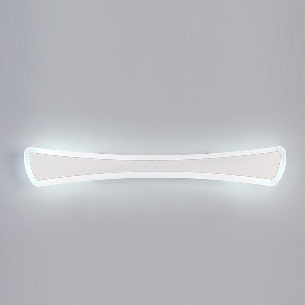JJJJD Badezimmer Spiegel Scheinwerfer, LED Badezimmer Wand Lampe Make-up Lampe, wasserdicht und Nebel weißes Licht (Größe   40cm 12W)