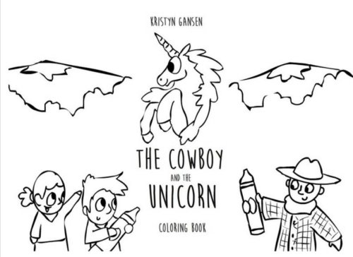 The Cowboy and the Unicorn Coloring Book
