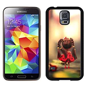 NEW DIY Unique Designed Samsung Galaxy S5 I9600 Phone Case For Little Girl Doll Phone Case Cover