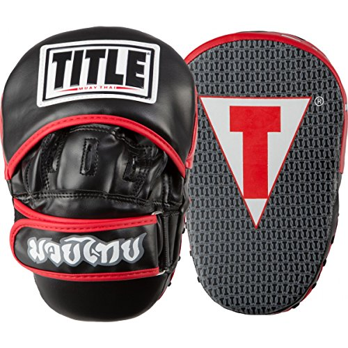 TITLE Muay Thai Pao Focus Pads by Title Boxing