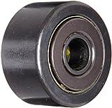 McGill CYR1 5/8S Cam Yoke Roller, Sealed, Inch, Steel, 1-5/8'' Roller Diameter, 7/8'' Roller Width, 7/16'' Inner Diameter, 15/16'' Overall Width, 1.09'' Endplate Diameter