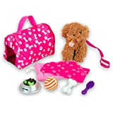 """Beverly Hills 18"""" Puppy Play Set, with 8 Accessories"""