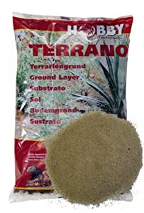 Terrano Arena del desierto, natural, diámetro de 1–3mm, 5kg